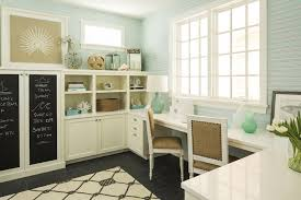 cottage style office. Built In Desk Cottage Style Office A