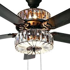 52 ceiling fan with remote caged crystal 5 blade ceiling fan with remote hunter 52 3