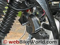 motorcycle horn relay webbikeworld mounting fiamm way blasters