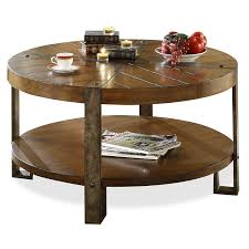 Full Size of Coffee Table:rounde Tables Modern Wood And Metal Natural  Tablesround Used Dark ...