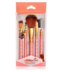 steel paris professional make up brush set of 5 5 no s steel paris professional make up brush set of 5 5 no s at best s in india snapdeal
