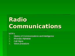 There are several spelling alphabets in use in international radiotelephony. Radio Communications Cadets1913army Powerpoint Presentation Free Online Download Ppt 7lelva