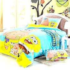 spongebob comforter toddler comforter set toddler bedding set great bed sheets for your duvet covers king