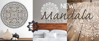 geometric wall stencils for painting home 1 complete moreover furniture stencil designs walls cutting edge