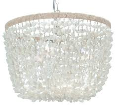 beach style chandeliers top reviewed chandeliers of 2018 houzz beach house chandeliers kouboo bubble seashell inverted