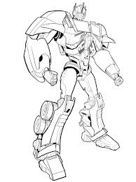 Small Picture Transformer coloring pages optimus prime to print ColoringStar