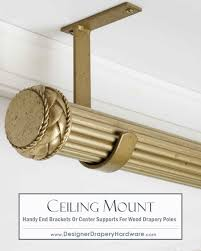 simple and fast ceiling mount installations for wood dry hardware can be used for end