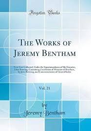 jeremy bentham works the works of jeremy bentham vol 21 jeremy bentham 9780265667064