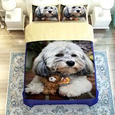 dog bedding set unique design dog printed bedding set boxer dog comforter set