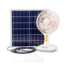 Quạt tích điện 3 trong 1 SUNTEK KM-F0166 sạc bằng năng lượng mặt trờ