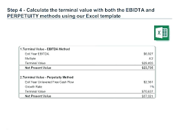 Model Excel Business Valuation Template Free Discounted Cash