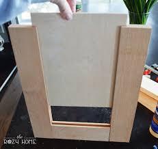 remodelaholic how to make a shaker cabinet door building kitchen cabinet doors