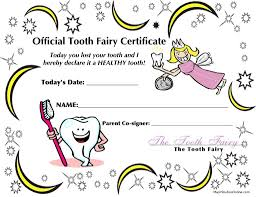 Teeth Coloring Pages Official Tooth Fairy I Lost My Tooth Today