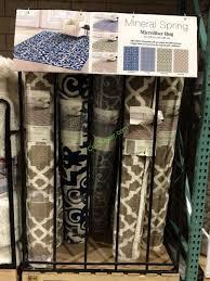 costco 1089502 mineral springs microfiber area rug all