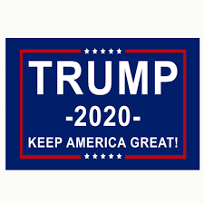 Donald Trump Flag <b>FREE SHIPPING</b> MAGA BLUE 3x5 Foot <b>Digital</b> ...
