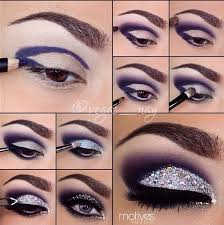 26 easy step by makeup tutorials for beginners eye glitter