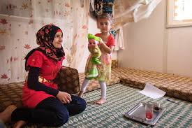 photo essay zaatari youths tackle child marriage women and girls saba her younger sister says the stress and circumstances of living as refugees