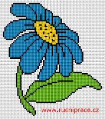 Cross Stitch Free Patterns Interesting Blue Flower Pattern Cross Stitch Free Patterns Free Cross Stitch