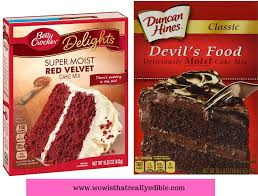 cake mix vs from scratch how to make