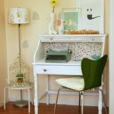 Shabby chic home office Feminine Small Shabby Chic Home Office With Typewriter Hgtv Photo Library Shabby Chic Home Office Photos Hgtv