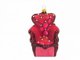 Sessel Mädchen Pink Glas Christbaumschmuck Weihnachten