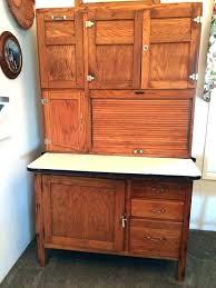 kitchen cabinet ers maid antique oak great condition value hoosier accessories