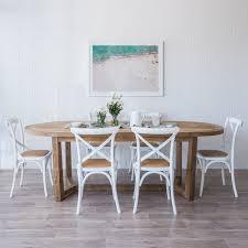 White beach furniture Distressed Lee Dining Table The Beach Furniture Lee Dining Table The Beach Furniture