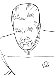 Star Trek Coloring Pages Free Coloring Pages
