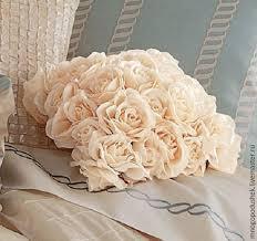 <b>Декоративная подушка</b> Прекрасная Роза – заказать на Ярмарке ...