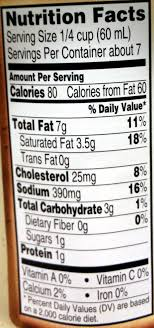 homestyle alfredo sauce nutrition facts