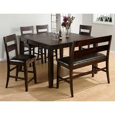 Jofran  Counter Height Butterfly Leaf Dining Table With Hand - Leaf dining room table