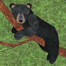 Bear Cub – Whims And Fancies & Bear Cub Paper Piecing Quilt Pattern Adamdwight.com