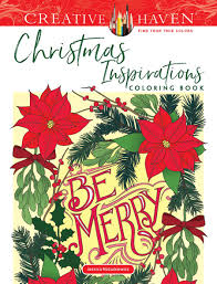 Creative Haven Floral Design Color By Number Coloring Book Creative Haven Christmas Inspirations Coloring Book By