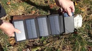 Foldable and <b>Detachable</b> 5000mAh <b>Solar Panel</b> Powerbank Review ...