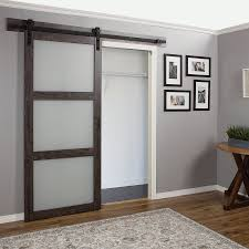 Overlapping Sliding Barn Doors Lowes Not Sure Of The Stain Color Kitchen Pinterest Barn