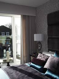 Sheer Bedroom Curtains Padded Upholstered Pelmet With Sheer Curtains My Home