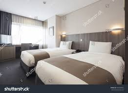 hotel bedroom lighting. A Hotel Room, Bedroom With Two Beds, Curtain, Lighting Front View At The W