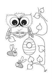 Baby Uil Kleurplaat Google Zoeken Uilen Owl Coloring Pages
