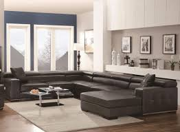 large size of living room large u shaped sectional sofa small leather sectional with chaise tan