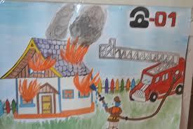 Уголок Пожарная безопасность Воспитателям детских садов  Уголок Пожарная безопасность