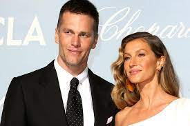 Ehemann Tom Brady ...