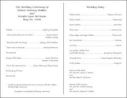 sample wedding program wording creative wedding programs 21st bridal world wedding ideas and