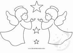 Disegni Di Bambini Stilizzati Disegni Di Angeli Angelo Con Stella