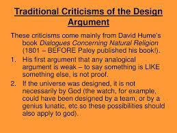 Design Argument Ppt The Design Teleological Argument Powerpoint