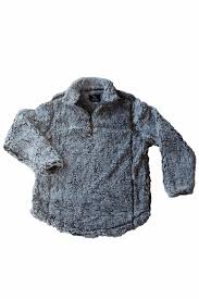 Simply Southern Sherpa Size Chart Grey Sherpa Pullover