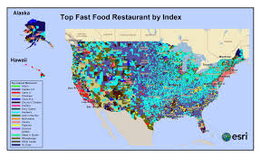 fast food what s most the most likely ed restaurant in a  taco bell