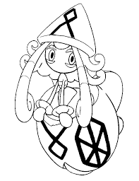 Small Picture Coloring page Pokemon Sun and Moon Tapu Lele 63