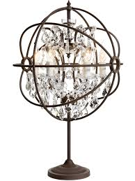 chandelier desk lamps picture yvo tadpoles mini chandelier table lamp white tadpoles chandelier 23 h table lamp