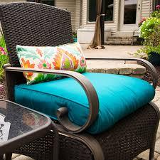a bullnose patio cushion