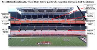 Oregon State Football Seating Chart Accommodations For Guests With Disabilities Commencement